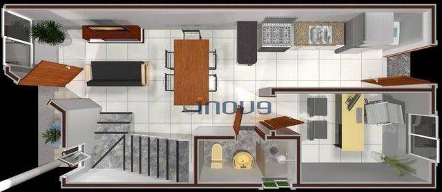 Casa com 3 dormitórios à venda, 75 m² por R$ 185.000,00 - Luzardo Viana - Maracanaú/CE - Foto 4