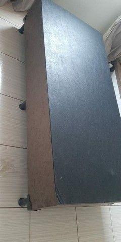 base para colchão de solteiro