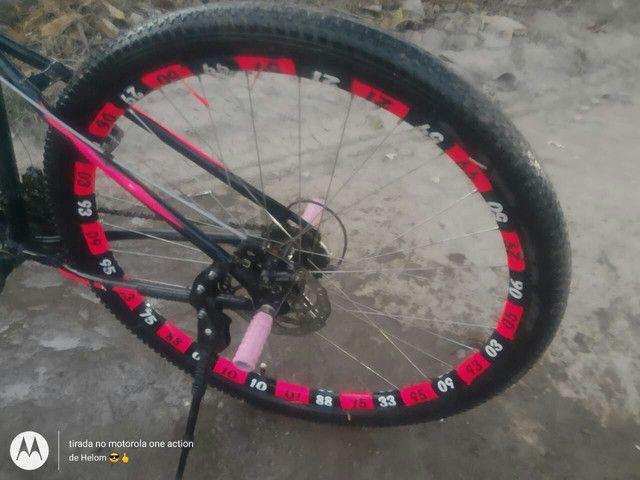 Bike aro 29. TROCO EM IPHONE! ! - Foto 2
