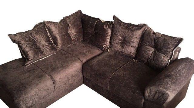 sofá de canto com entrega gratis