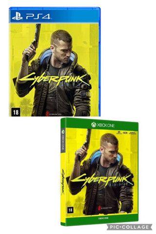 CyberPunk 2077 - PS4 e XBOX - Lacrado