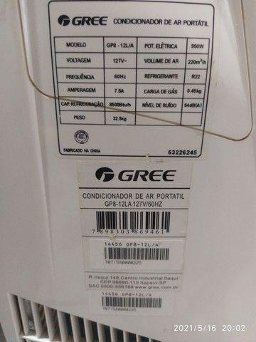 Ar condicionado portátil Gree 8500 btu - Foto 2