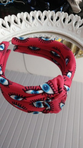 Tiara turbante olho grego atacado  - Foto 2