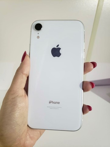 iPhone XR Apple - Branco 64GB  - Foto 4