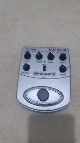 Pedal Baixo Bass BDI 21 Behringer