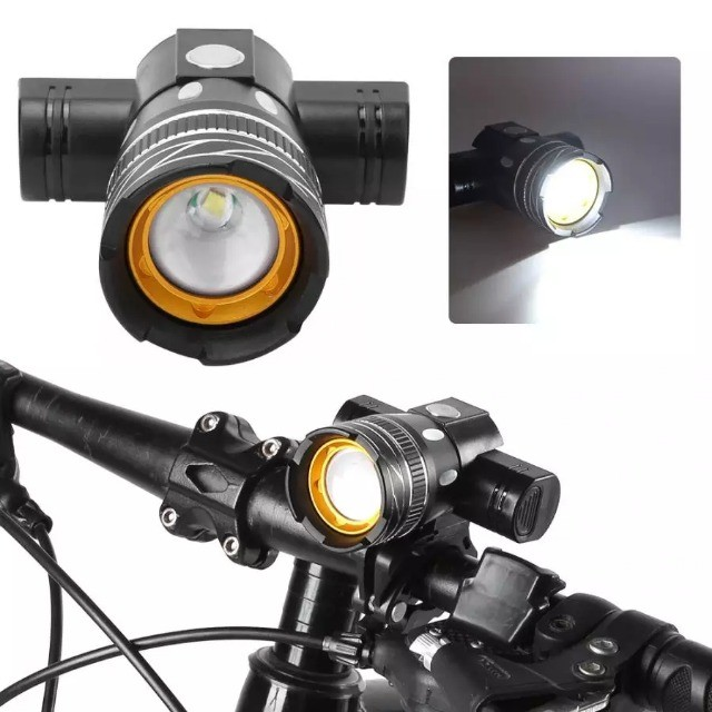 lanterna para ciclismo profissional a prova d'água - Foto 2