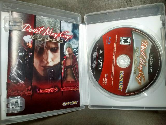 Jogo Devil May Cry collection original para PS3