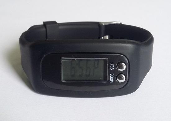 Relógio Pulseira Run Para Corridas - Pedômetro