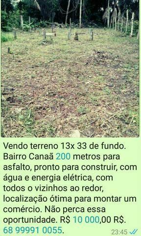 Terreno R$ 10.000,00 R$