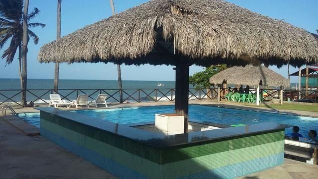 Apartamento em Cumbuco, 01 Quarto, Mobiliado, vista para o Mar