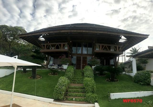 Mansão em Fortim Ceará, casa tríplex, 6 suítes, projetada e mobiliada, próximo ao Centro - Foto 9