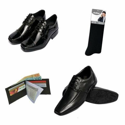 Kit De Calçados Masculinos Selten - Roupas e calçados - Centro Sul ... fdcb0ecd326