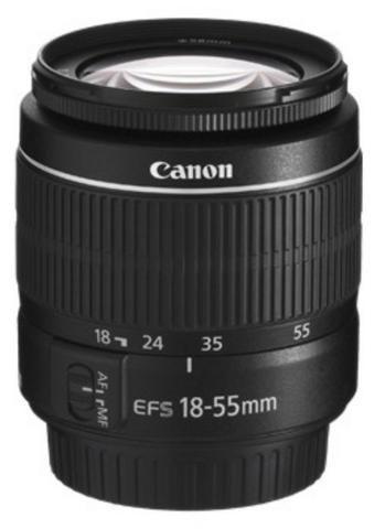 Lente Canon EF-S 18-55 F/3.5-5.6 III