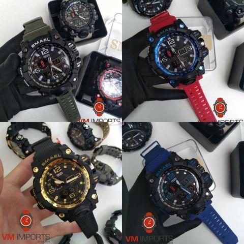 32c9b3f7409 Relógios Masculinos Esportivos A prova d água 5atm com o melhor preço da  região!