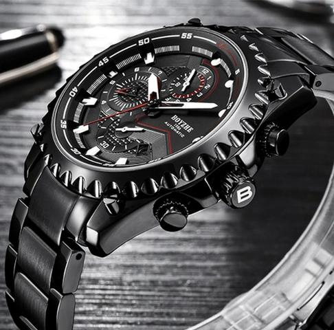 d67ca025afc Relógio Boyzhe Automático Original a prova d água - Bijouterias ...