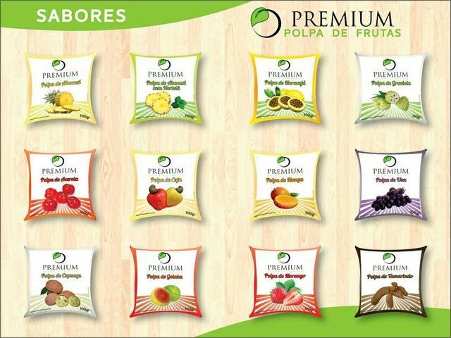 Polpas de Fruta Premium Direto da Industria