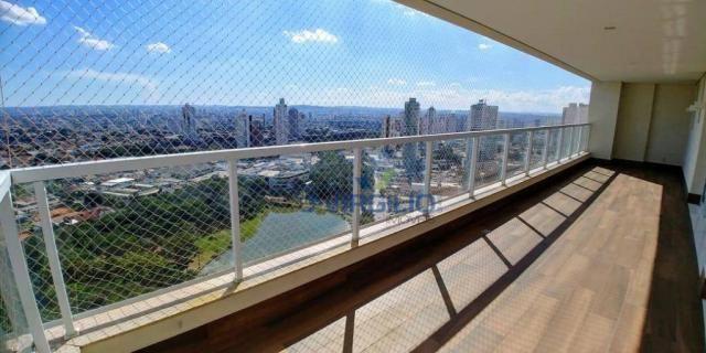Cobertura à venda, 467 m² por r$ 3.290.000,00 - setor bueno - goiânia/go - Foto 2