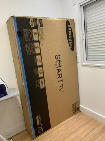 TV 75 Smart Samsumg (retirar sp) modelo 6300 - Foto 3