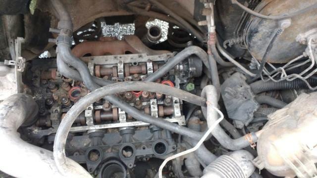 Master 2011, furgão, lataria perfeita, azul é adesivo, reparos no motor, troco por guincho - Foto 3