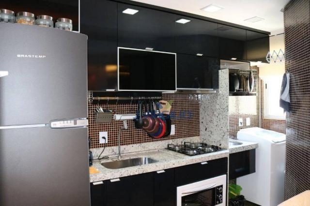 Apartamento com 2 dormitórios à venda, 54 m² por r$ 180.000 - setor dos afonsos - aparecid - Foto 14
