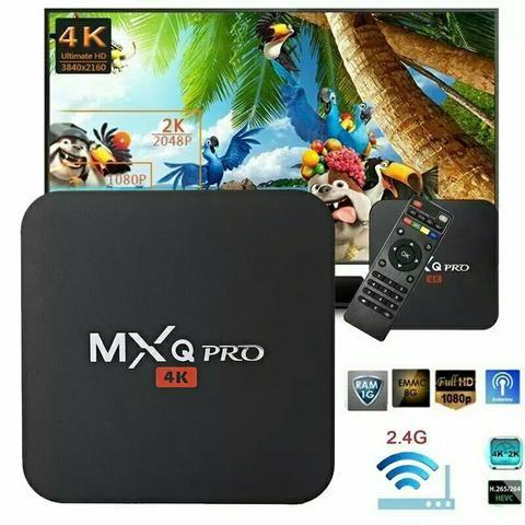 Smart tv box pro 4k 3gb 16 de memoria