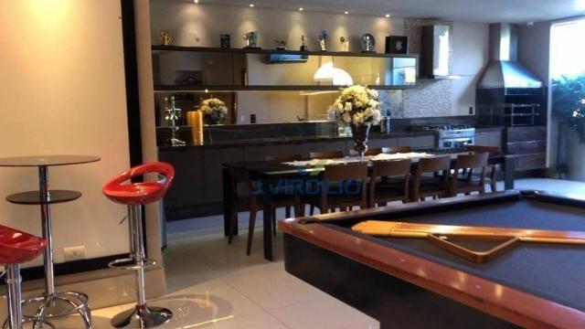 Apartamento triplex com 4 dormitórios à venda, 400 m² por r$ 1.399.000,00 - setor nova sui - Foto 2