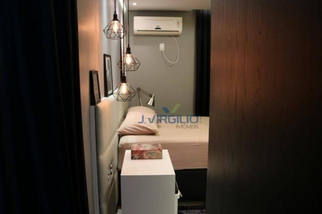 Apartamento com 2 dormitórios à venda, 54 m² por r$ 180.000 - setor dos afonsos - aparecid - Foto 18