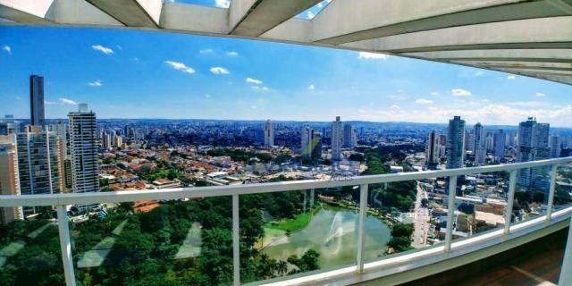 Cobertura à venda, 467 m² por r$ 3.290.000,00 - setor bueno - goiânia/go