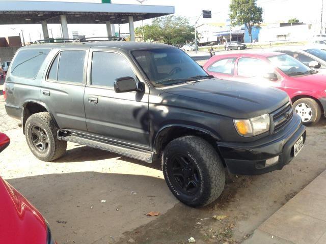 Hilux Sw4 2000 toda restaurada, tudo novo, preta muito conservada - Foto 4