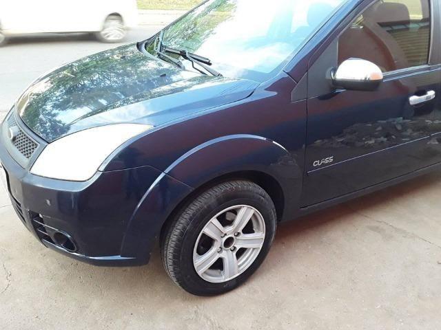 Fiesta sedan 1.6 Azul raridade * - Foto 8