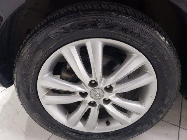 Ix35 2012 mecanica gls muito nova c/ couro e pneus novos - Foto 3
