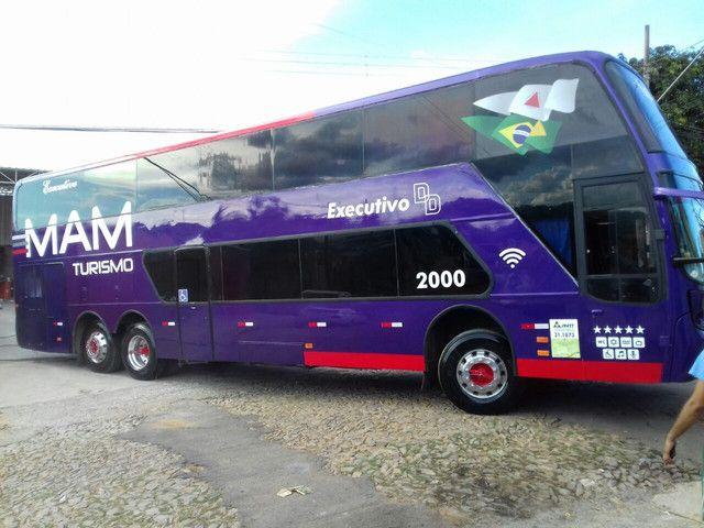 Ônibus DD scania k124 - Foto 3