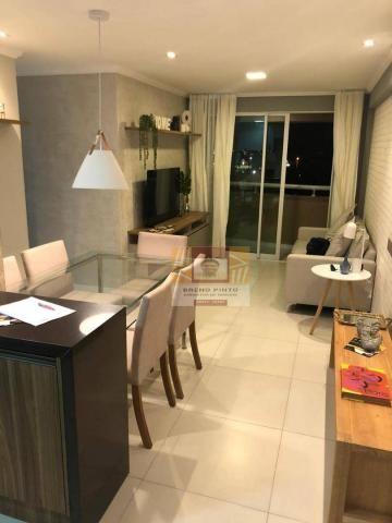 Apartamento para venda com 3 quartos e lazer completo no Guararapes - Foto 12