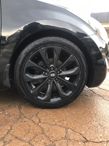 Hyundai elantra gls 2012 preto teto solar - Foto 12