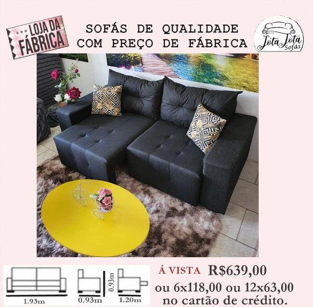 Sofas Novos Direto Da Fabrica a Partir De R$349,00 - Foto 4