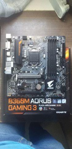 Placa-Mãe Gigabyte Aorus B360M Aorus Gaming 3 / Ler descrição ! - Foto 2