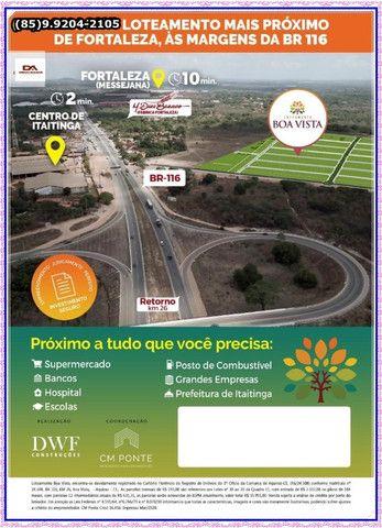 O melhor Loteamento em Itaitinga(Construção liberada)*! - Foto 16