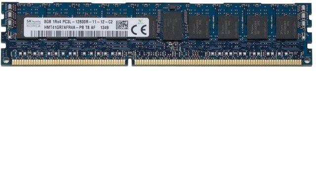 2x8gb 1Rx4 pc3l 12800r 1rx4 Memoria Ram Pc3l-12800r Ddr3 1600mhz Servidor - Foto 3
