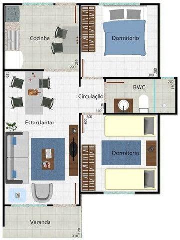 Apartamento em condomínio, Av. Umuarama N. 2011 Apto. 301 Bloco 05, Araçatuba- SP - Foto 5