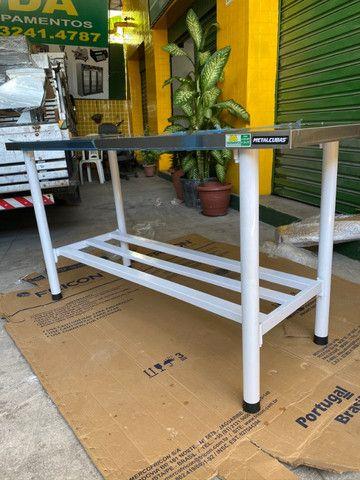 Mesas para Panificação inox / toda inox ou mista - a partir de r$ 859,00