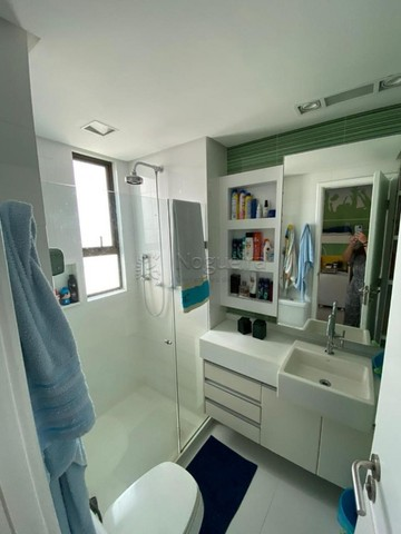 Hh1319  Setubal, apto 174m, 4 quartos, 3 suites,  3 vagas, 16´andar, $7300 tudo incluso - Foto 11