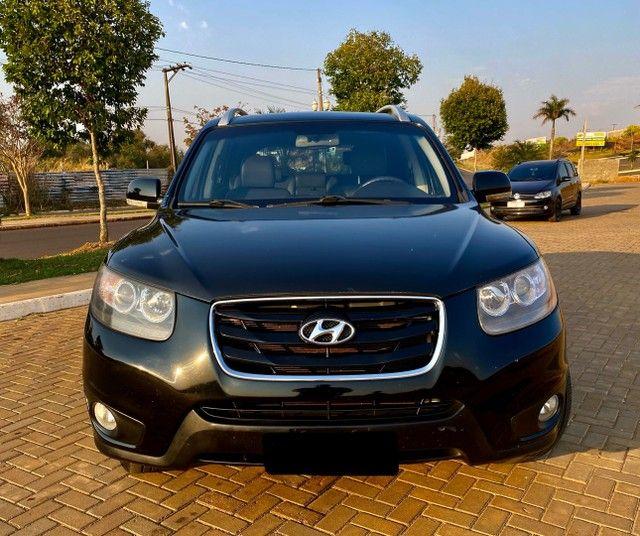 Hyundai Santa Fe 2011 3.5 v6 4x4 automático - 7 lugares- Teto solar- 285cv - Foto 10
