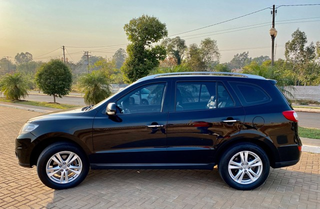 Hyundai Santa Fe 2011 3.5 v6 4x4 automático - 7 lugares- Teto solar- 285cv - Foto 7