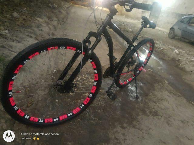 Bike aro 29. TROCO EM IPHONE! ! - Foto 3