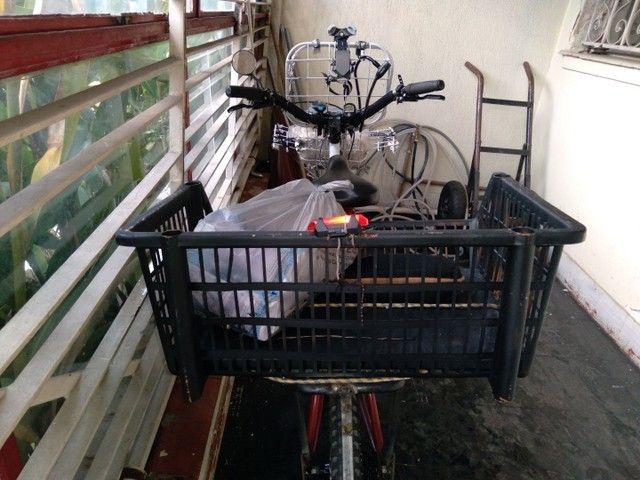 Bicicleta  para trabalho e lazer - Foto 4