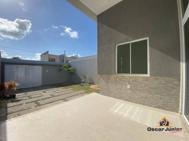 Casa com 3 dormitórios à venda, 90 m² por R$ 270.000 - Centro - Eusébio/CE - Foto 8