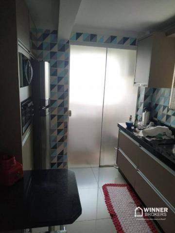 Lindo apartamento mobiliado à venda no centro de Cianorte! - Foto 12