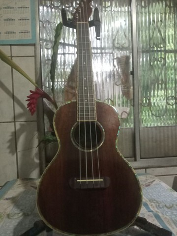 Ukulele Fender Nohea Electric Tenor Natural C/ Bag - Foto 5