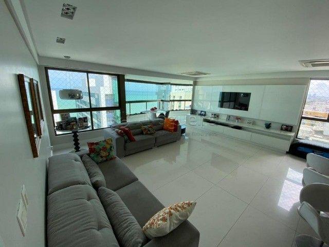 Hh1319  Setubal, apto 174m, 4 quartos, 3 suites,  3 vagas, 16´andar, $7300 tudo incluso - Foto 4