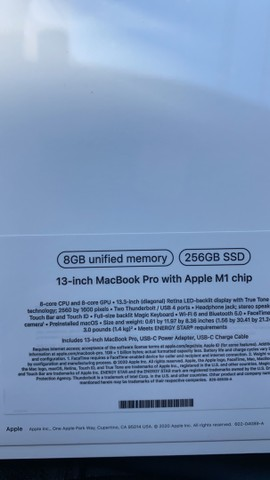 MacBook Pro 2021  lacrado M1  - Foto 2